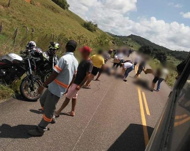 Vereador atropela grupo de motociclistas com caminhonete e mata três na PE-96, em Água Preta