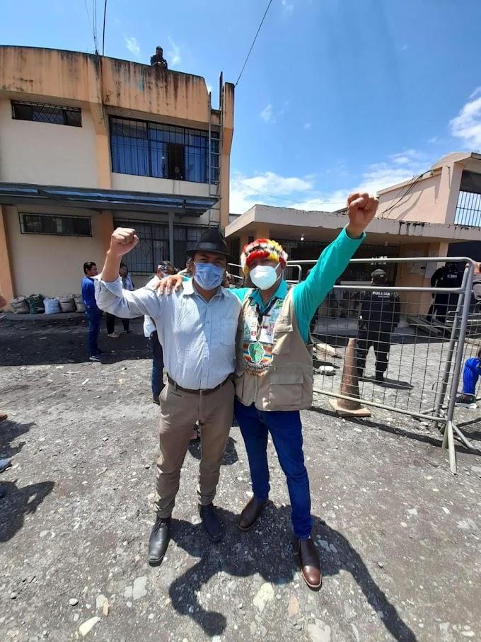 Antonio Vargas, líder indígena histórico de Ecuador, fue liberado