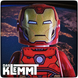 Minifigur Iron Man - www.dasklemmt.de