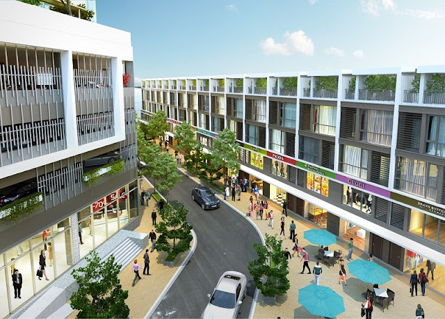 Shophouse Sunshine City Ciputra Tây Hồ - Nhà phố
