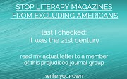 Stop Literary Magazines From Excluding Americans
