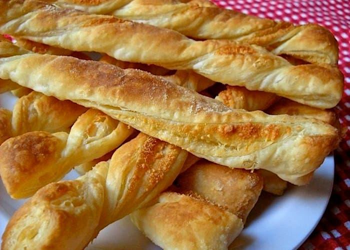 Palitos de queso crujientes al horno