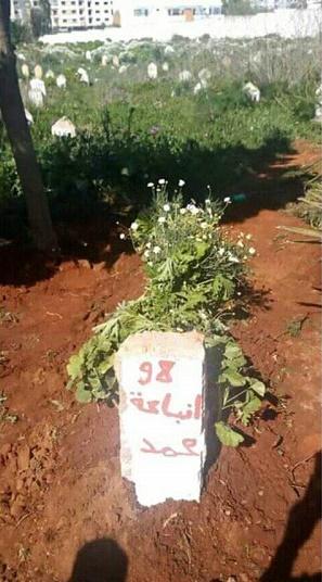 قبر المرحوم بوتفوناست