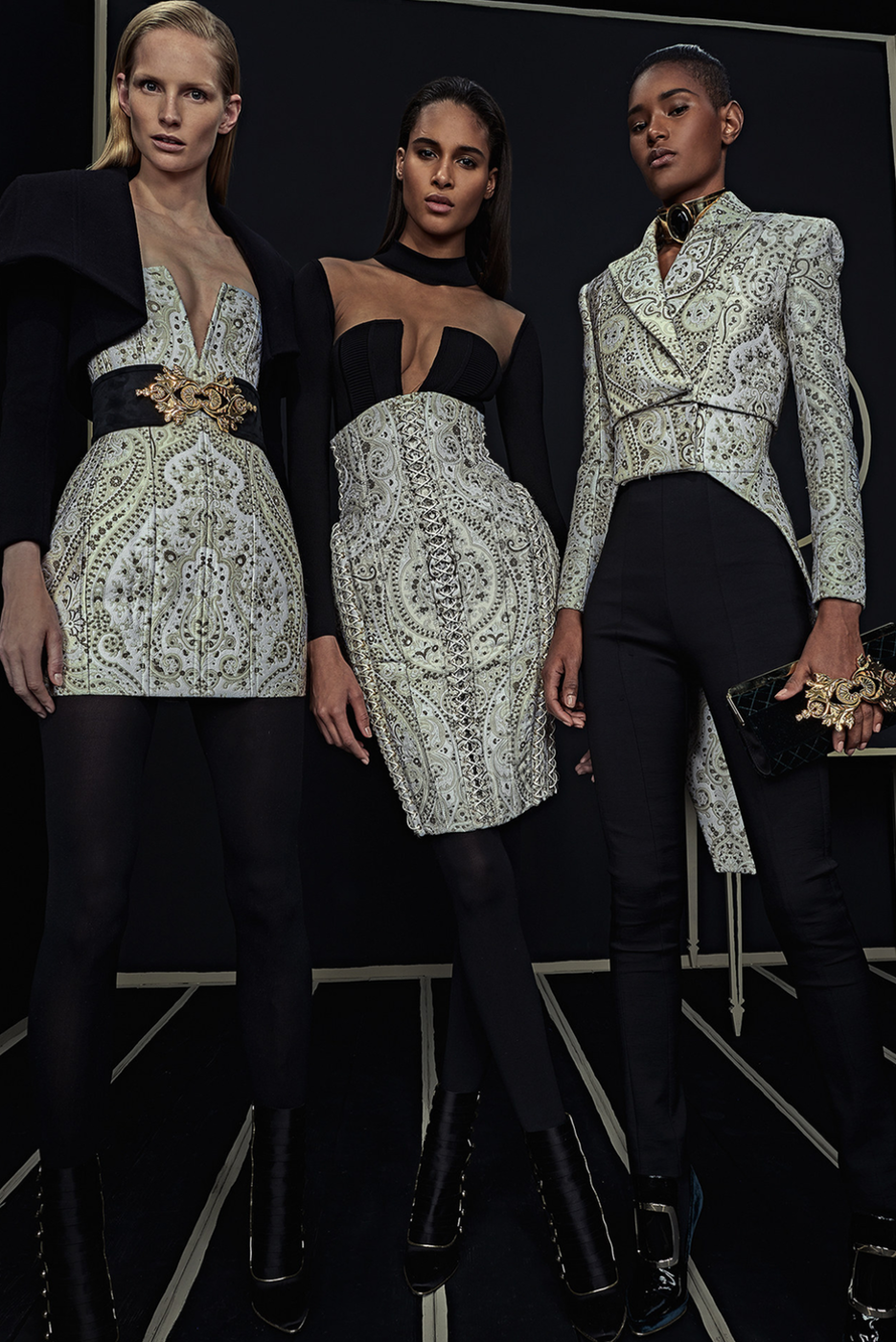 Balmain Fall/Winter 2016 Lookbook