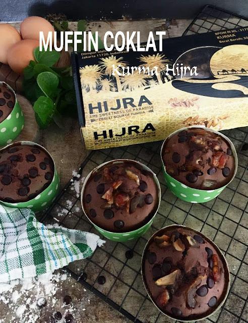 Muffin Coklat Kurma Hijra