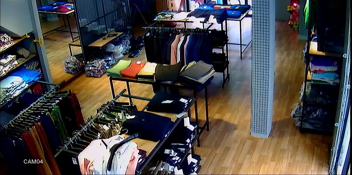Lắp đặt camera quan sát cho cửa hàng quần áo, shop thời trang... quận Bình Thạnh