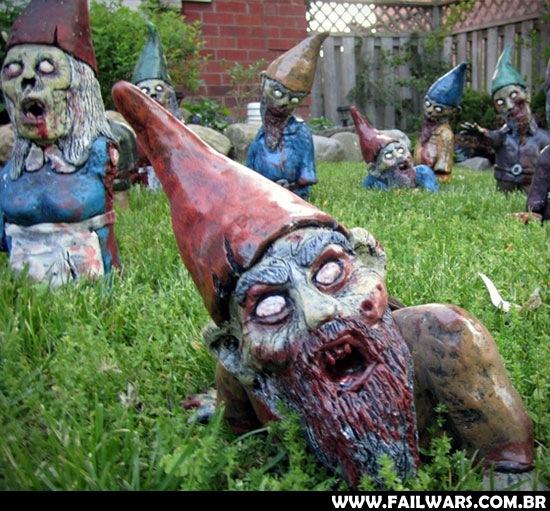 Beatiful Dead: Os zumbis invadem nossos jardins!!
