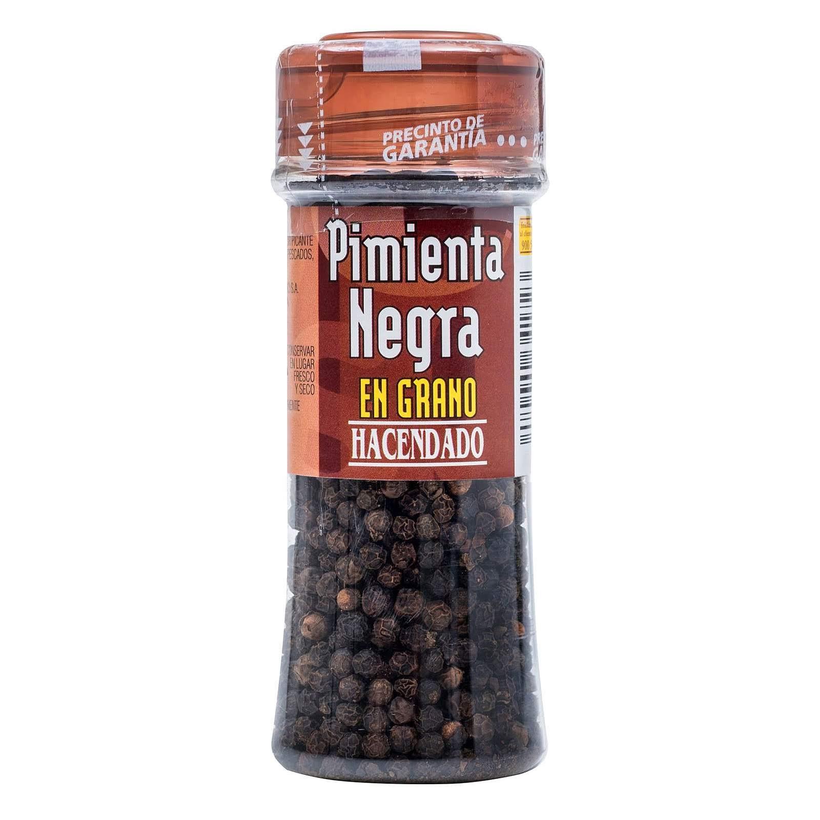 Pimienta negra en grano Hacendado