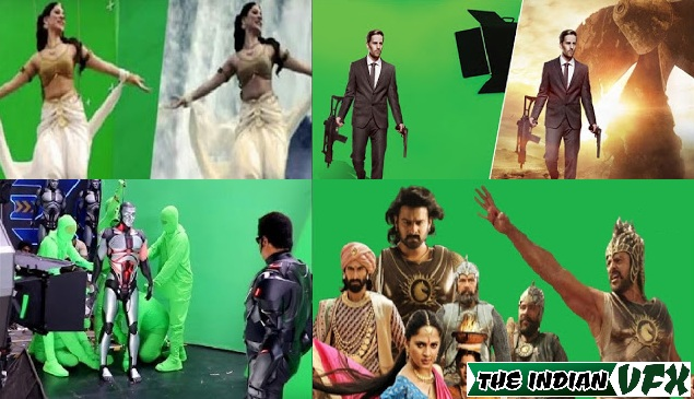 Why green background is used for vfx?