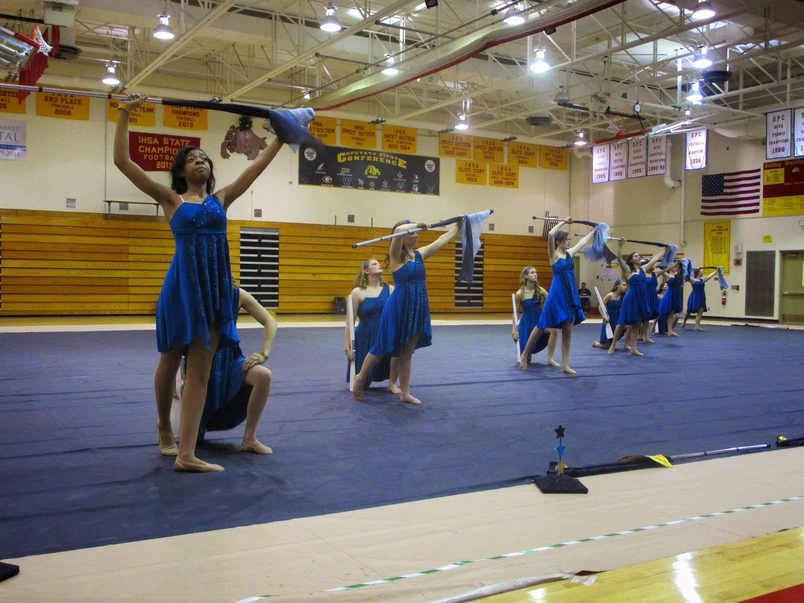 downers grove north high school bands winter guard takes. Black Bedroom Furniture Sets. Home Design Ideas