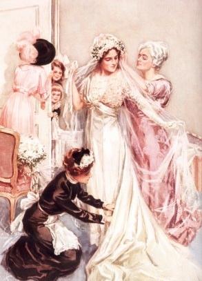 vestido de noiva 1910