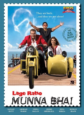 Lage Raho Munna Bhai (2006) Hindi 720p BRRip x264 1GB ESub