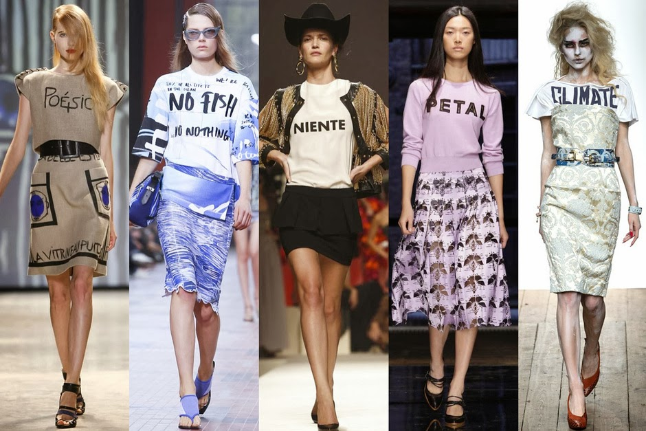 "T-shirt ""parlanti"": Jean-Charles de Castelbajac, Kenzo, Moschino, Christopher Kane,Vivienne Westwood Red"