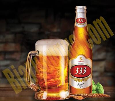 Bia chai 333 Export Premium