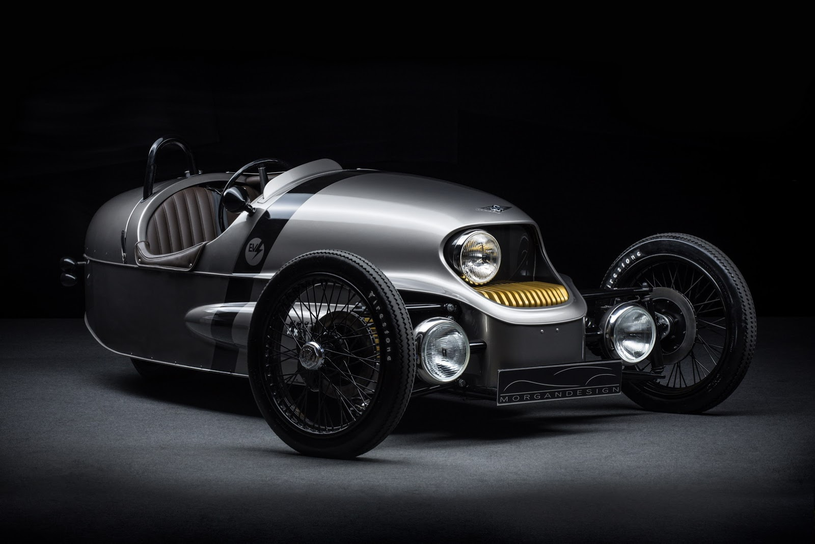 Morgan EV3 2017 sẽ là dòng xe chạy hoàn toàn bằng điện của Morgan