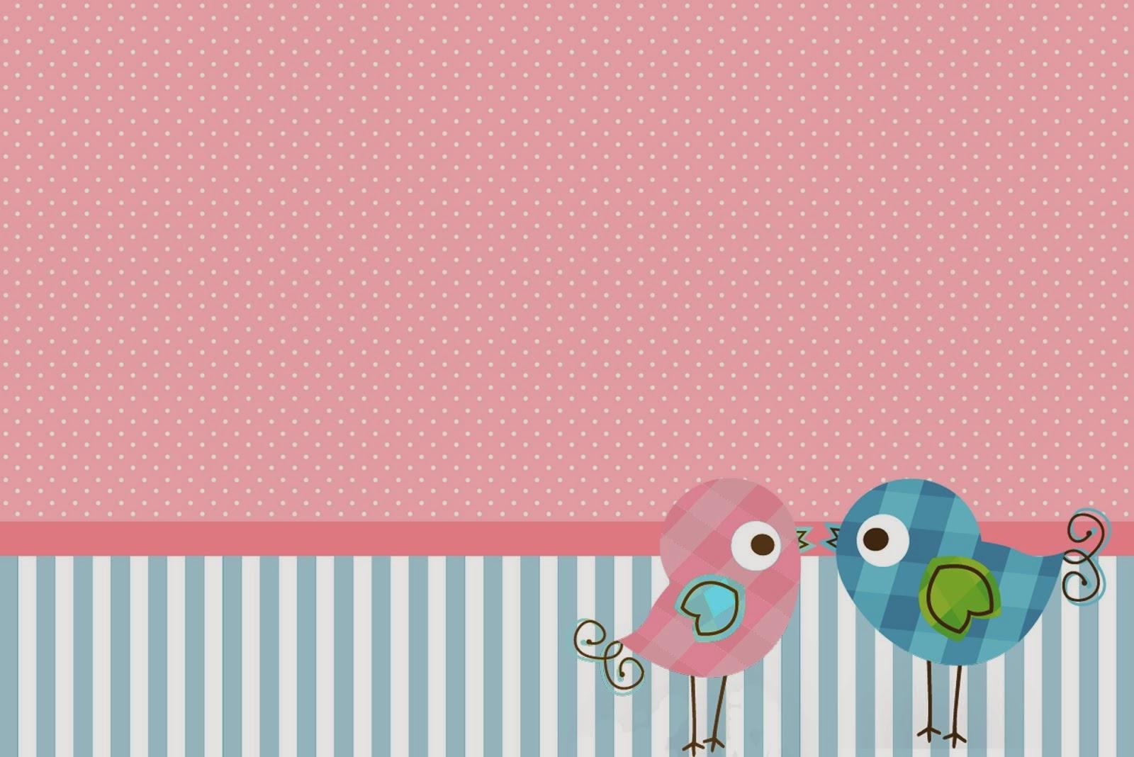 Pareja de Pájaros: Invitaciones para Imprimir Gratis. | Oh My Bodas!