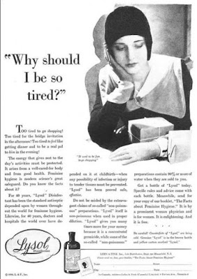 Lysol - Why should I be so tired?