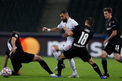 ملخص واهداف مباراة ريال مدريد ومونشنجلادباخ (2-2) دوري ابطال اوروبا
