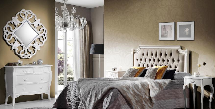Muebles de dormitorio un dormitorio provenzal blanco - Muebles dormitorio blanco ...