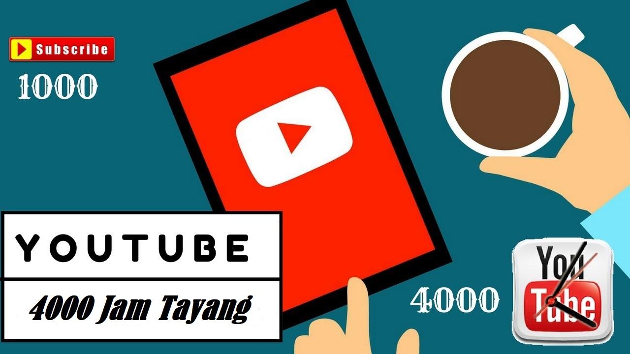 Jasa Jam Tayang Youtube