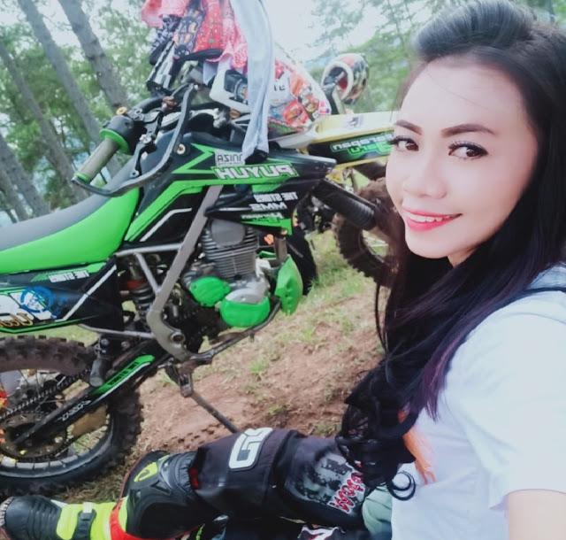 Besok! Pembalap Cantik Asal Soroako Ini Akan Beraksi di Jelajah Toraja Trail Adventure