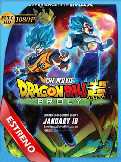 Dragon Ball Super Broly (2019)HD [1080p] Latino [GoogleDrive] SilvestreHD