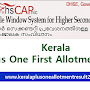 HSCAP Plus One first main allotment 2019 check now