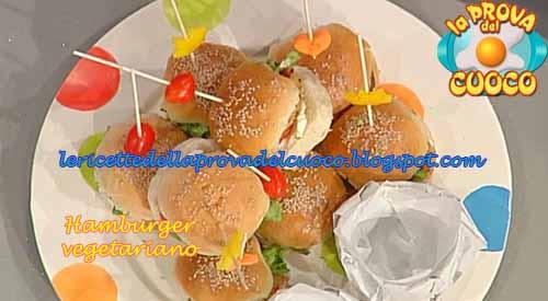 Hamburger vegetariano ricetta di natalia cattelani da la for Cucinare vegetariano