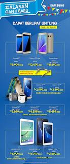 Harga dan Bonus Promo Akhir Tahun 2016 Samsung Galaxy Tablet dan Ponsel