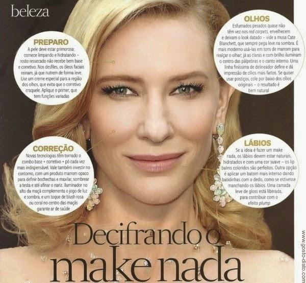 Maquiagem natural - Make nada - Maquiagem minimal