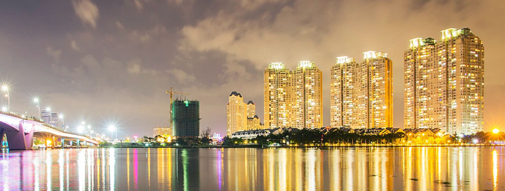 khu căn hộ Saigon Pearl và The Manor quận Bình Thạnh