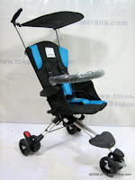 1 BABYELLE S300 Wave LightWeight Baby Stroller with Travel Bag