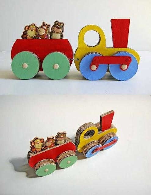 manualidades.carton.juguete.tren