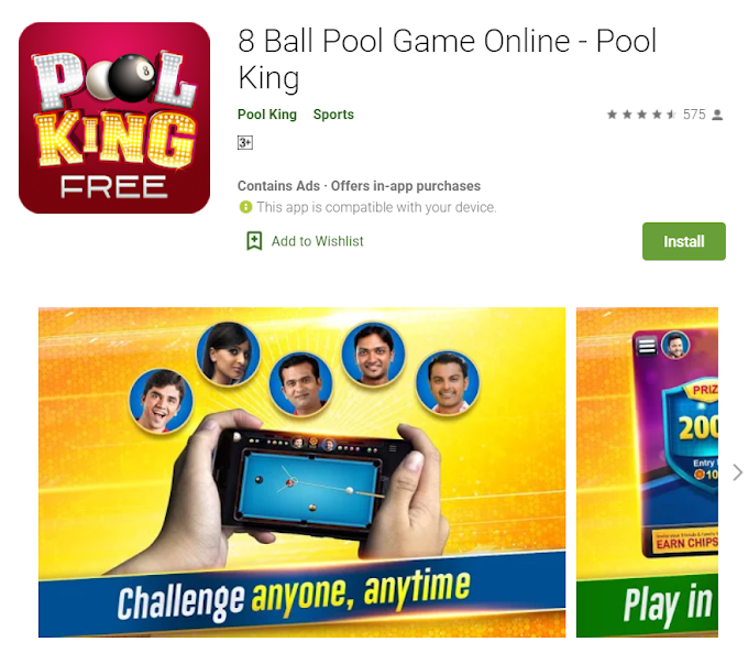 How to earn money with Playing 8 ball pool
