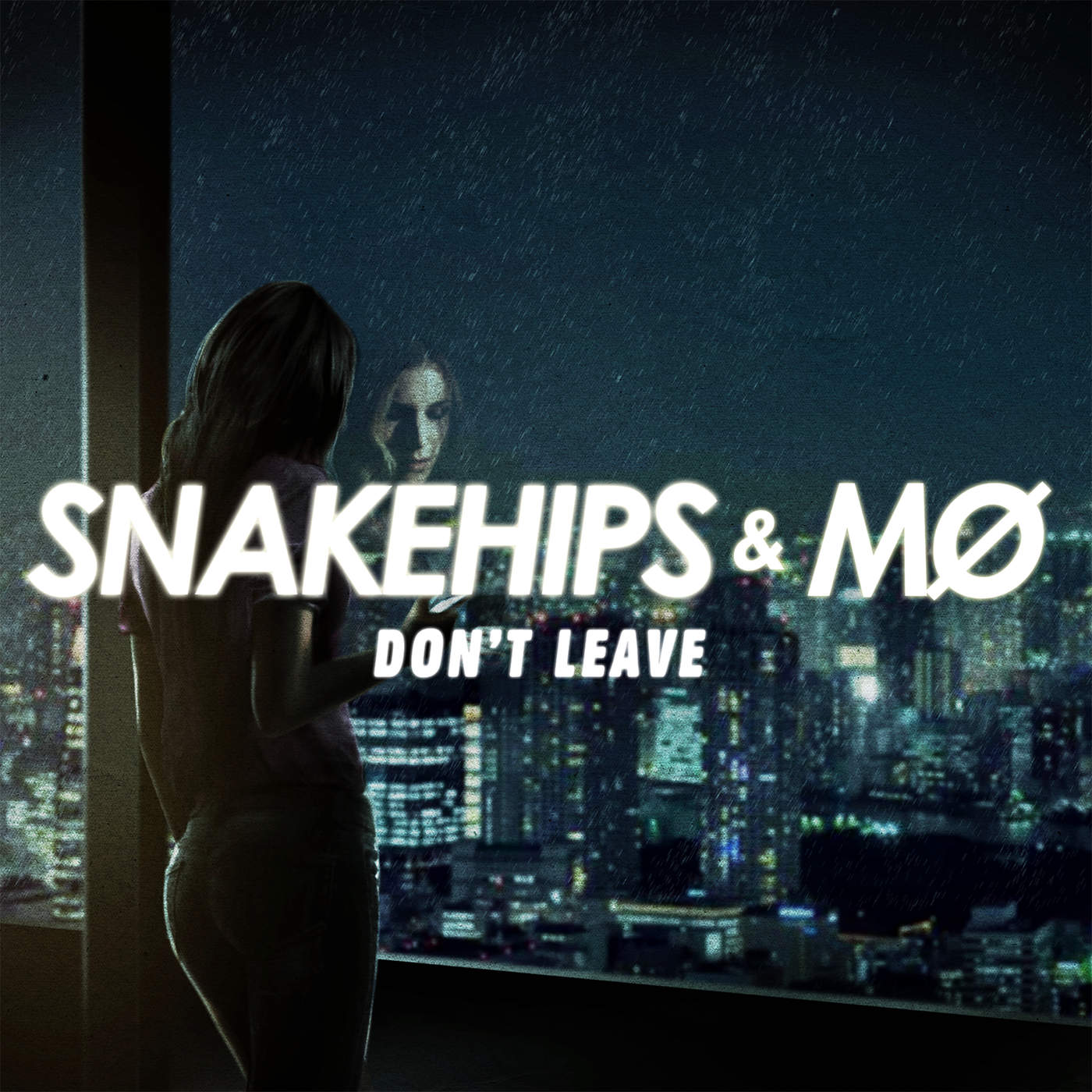 Snakehips & MØ - Don't Leave - Single Cover