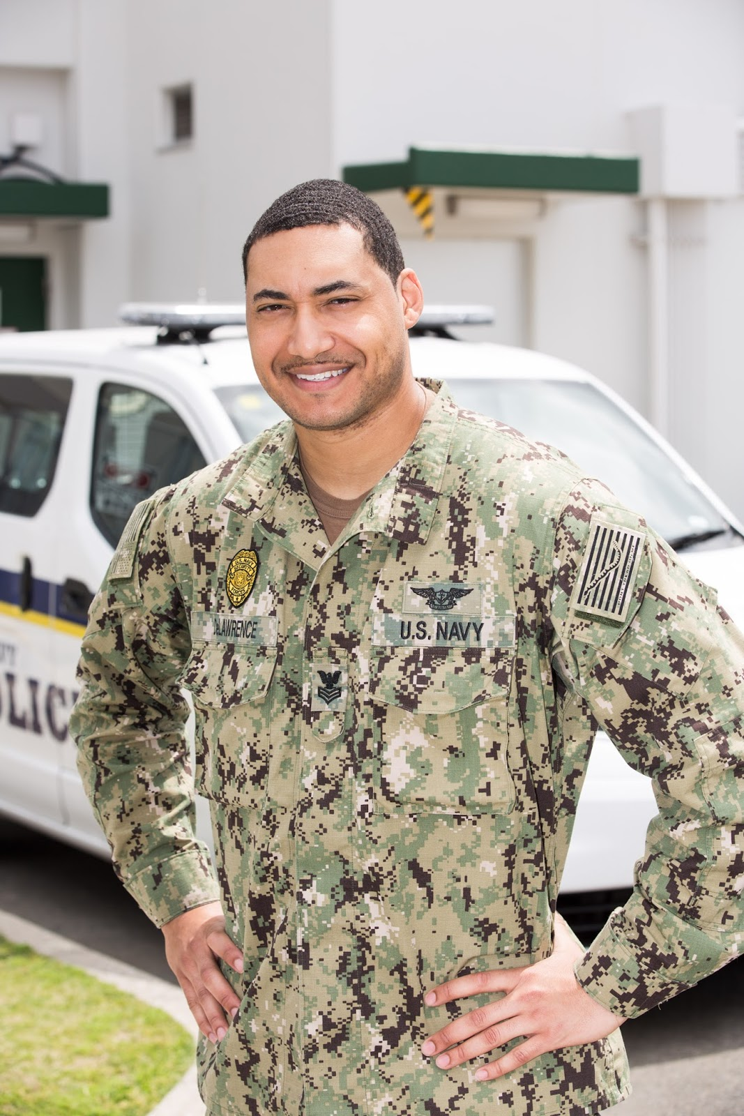 San Diego Native Serves with the U S  Navy Half a World Away With
