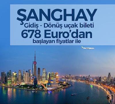 Şanghay Uçak Bileti