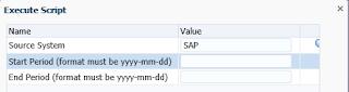 FDMEE: System Maintenance Tasks: Maintain EBS GL Balances Table