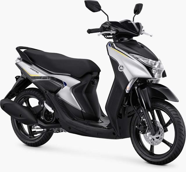 Yamaha gear 125 Metallic Silver