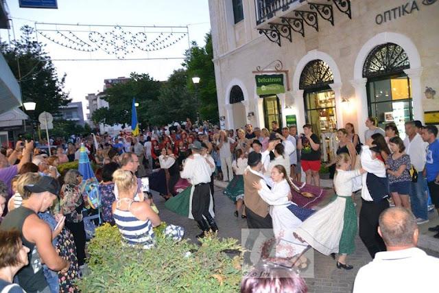 Πρέβεζα: Με Πολύ Κέφι Και Χορό Ξεκίνησε Το «18ο Διεθνές Φεστιβάλ Παραδοσιακών Χορών», Στην Πρέβεζα