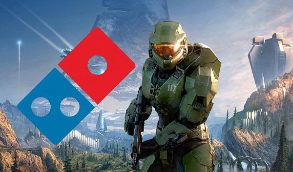 ديومينوز بيتزا تسخر من قوة جهاز Xbox Series X و لعبة Halo Infinite عن طريق صورة دعائية