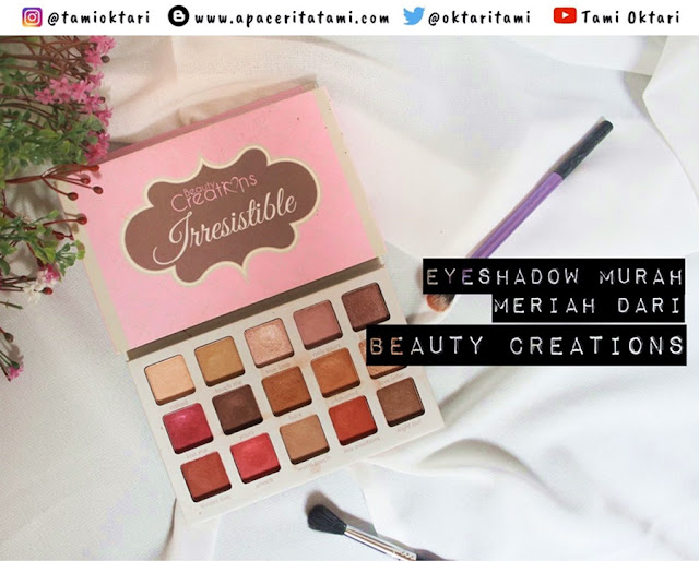 [REVIEW & SWATCHES] Beauty Creations Irresistible Eyeshadow Palette
