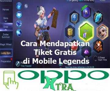 Cara Mendapatkan Tiket Gratis di Mobile Legends