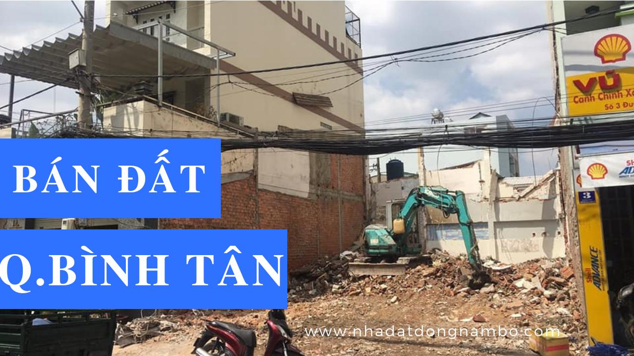 Bán đất quận Bình Tân giá rẻ 2019, sổ hồng riêng chính chủ