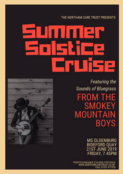 Summer Solstice Cruise in aid of the Northam Care Trust on the MS Oldenburg Friday 21st June