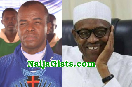 ejike mbaka buhari message 2018