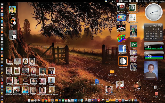 Ubuntu desktop in 2016