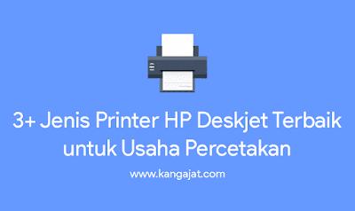jenis printer hp deskjet