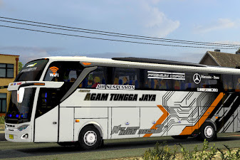 Livery Agam Tungga Jaya New for SHD Pack ojepeje