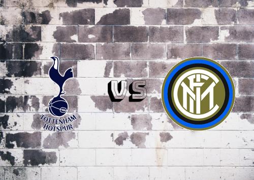 Tottenham Hotspur vs Internazionale  Resumen y Partido Completo